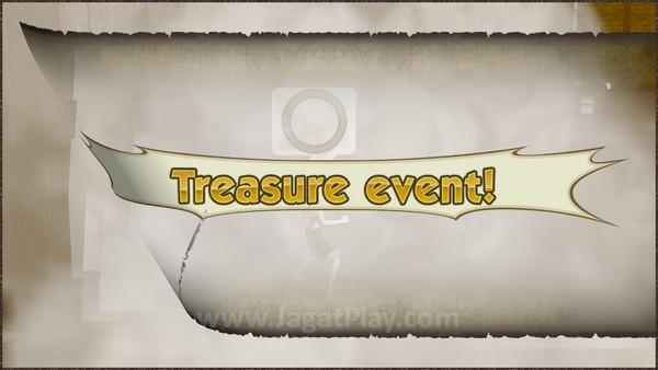 Temukan harta tersembunyi dengan menyelesaikan Treasure Event