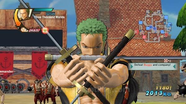 Karakter ikonik dalam dunia One Piece dapat ditemui dalam game ini