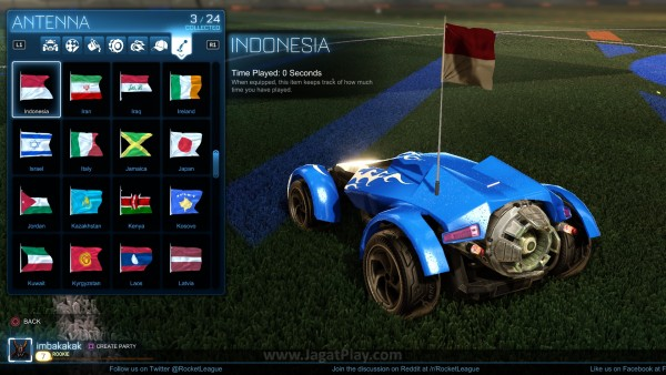 Segudang item kosmetik ditawarkan sebagai reward. Indonesia!!
