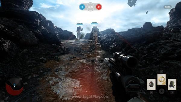 DICE tak hanya berhasil menghadirkan visual yang memesona, tetapi juga menciptakan atmosfer Star Wars yang tepat.