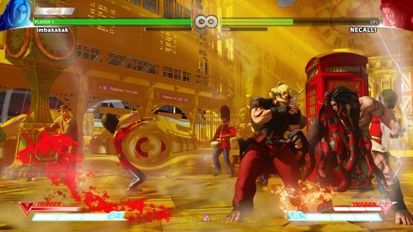 V-Trigger di Ken, misalnya, membuat serangannya memiliki elemen api untuk waktu tertentu.