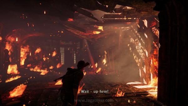 Tata cahaya dan efek blur membuat game ini terasa kekinian.