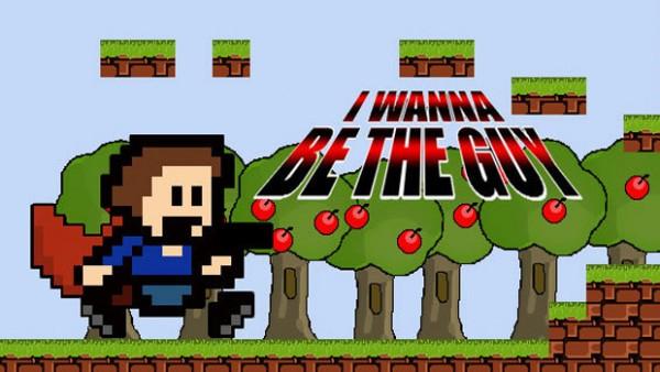 Dev. I Wanna be the Guy coba meracik sebuah level di Super Mario Maker.