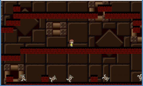 Terlihat sederhana, Austin memastikan tiap level game yang ia ciptakan ini merepresentasikan ceritanya dengan Lauren.
