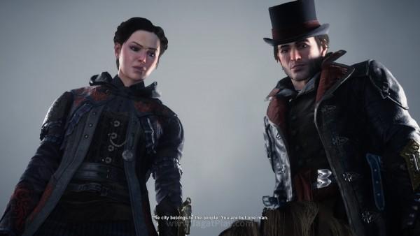 Anda kini berperan sebagai saudara kembar Fryes - Jacob Frye dan Evie Frye.