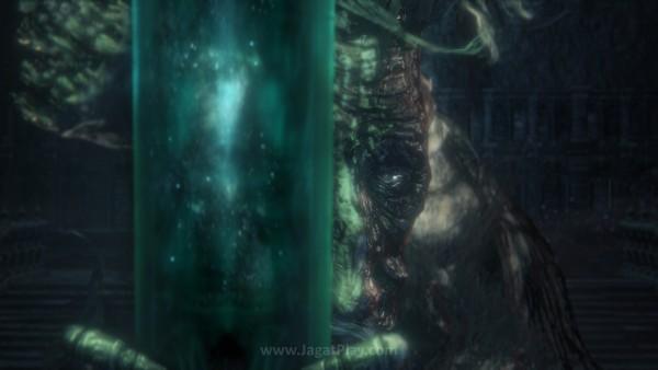 Sama seperti Bloodborne sebelumnya, The Old Hunters tetap hadir dengan gaya penceritaan yang implisit.