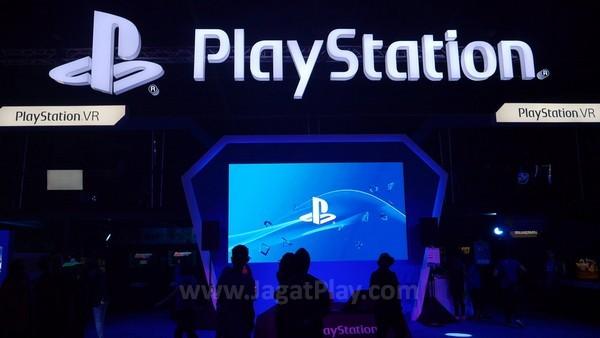 Booth PlayStation di GameStart 2015
