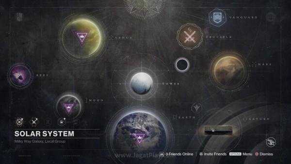Daerah baru dengan beragam rahasia di dalamnya juga menghiasi peta Sol System