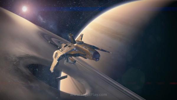 Oryx menunggu Anda di Dreadnought, kapal super besar di cincin Saturnus