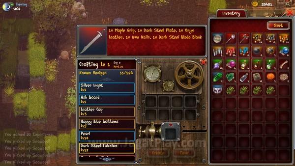 Temukan resepnya dan buat sendiri beragam senjata dan armor!