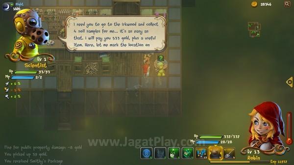 Tersedia banyak Side Quest untuk Anda lakukan