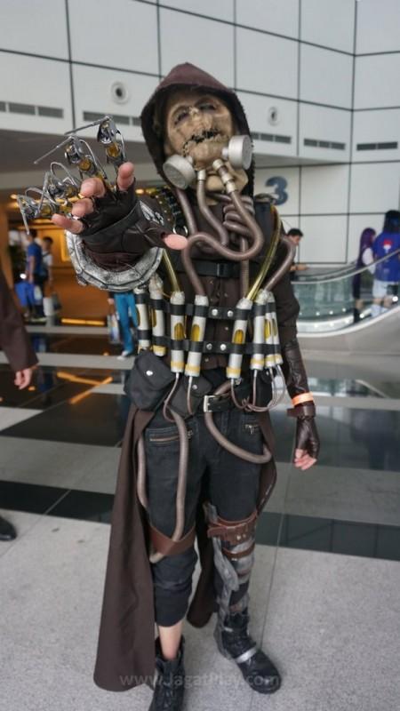 Gamestart 2015 booth babes cosplay (2)