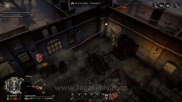 Skill serangan beragam bentuknya, misalnya menembak tembus tembok tanpa mengurangi kekuatannya