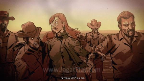 Cerita Wild West bercampur supranatural, kombinasi yang unik