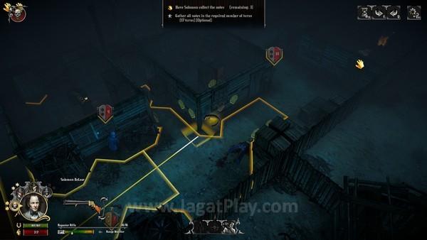 Beberapa obyek di daerah pertempuran dapat diaktifkan demi efek yang beragam