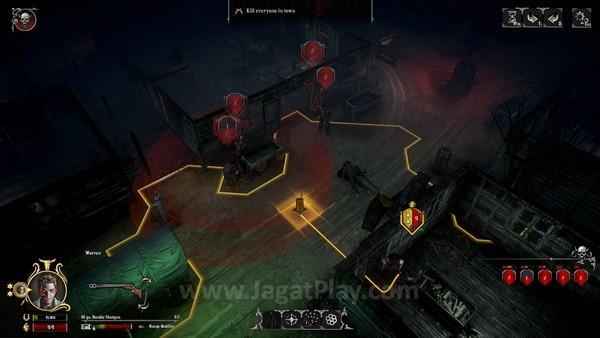 Masuk ke daerah yang dikuasai musuh saat mereka mengetahui posisi Anda menyebabkan musuh menembak otomatis