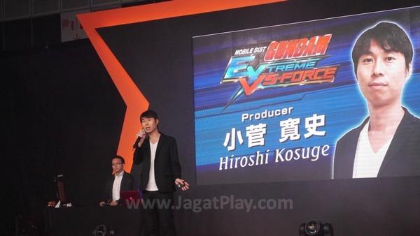 Hiroshi Kosuge - Gundam PS Vita