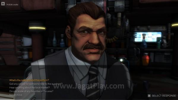 Dialog diwakili oleh karakter 3D