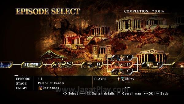 Setiap Chapter dibagi dalam beberapa episode, berisi cerita dan musuh untuk dilawan