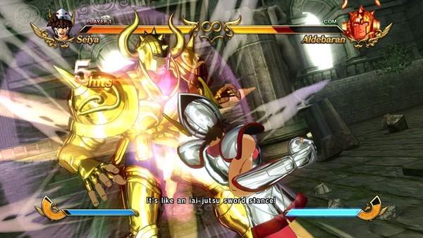 Setiap serangan dengan damage besar diberikan animasi khusus