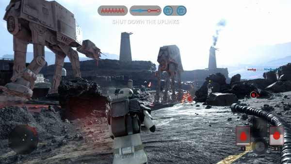 Sullust mungkin satu-satunya peta Walker Assault yang masih terasa berimbang antara Imperial dan Rebels.