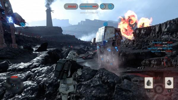 Untuk mengejar rilis yang berdekatan dengan Star Wars Eps. VII, EA memutuskan untuk tak menghadirkan mode campaign di Battlefront.
