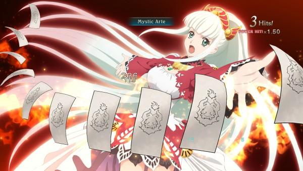 Serangan spesial ditemani oleh cutscene anime dan tentunya damage super besar