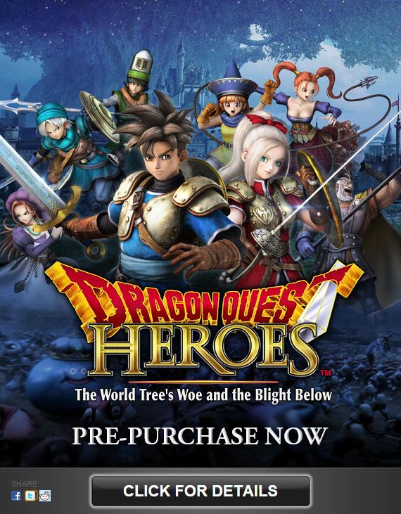 Iklan Dragon Quest Heroes versi PC ini