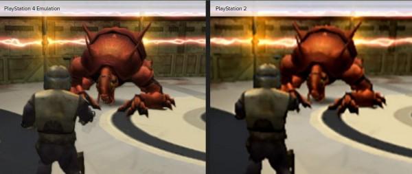 Proses uji Digital Foundry menyebut bahwa emulasi ini membuat game-game Playstation 2 ini berjalan di resolusi 2 kali lipat dari versi original.