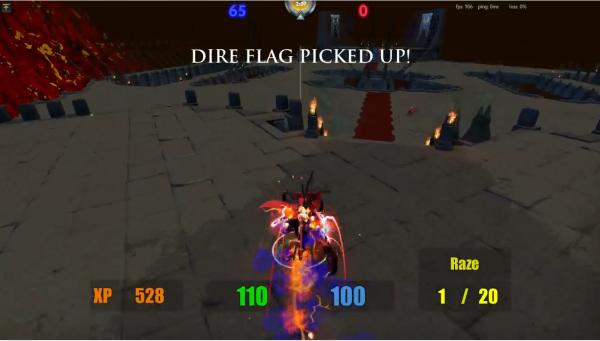 Slayers of the Ancients - sebuah game third person shooter hasil modding dari DOTA 2.