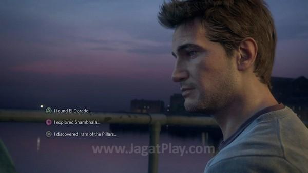 Kini dengan opsi pilihan respon. Naughty Dog menegaskan bahwa kehadiran mekanik baru ini tidak akan mengubah inti pengalaman single player Uncharted itu sendiri. Hanya sekedar untuk mendapatkan varian informasi berbeda, Anda tidak akan sampai menemukan cabang atau bahkan ending berbeda.
