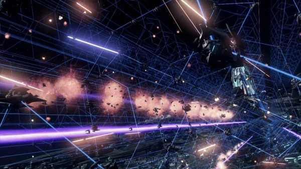 Berbeda dengan game sci-fi yang biasanya menjadikan manusia sebagai