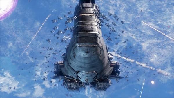 Berusaha memastikan eksistensi manusia sebagai ras terus berlanjut, upaya penyelamatan dilakukan. Kapal-kapal luar angkasa raksasa berisikan manusia-manusia terpilih berusaha lari dari perang masif ini.