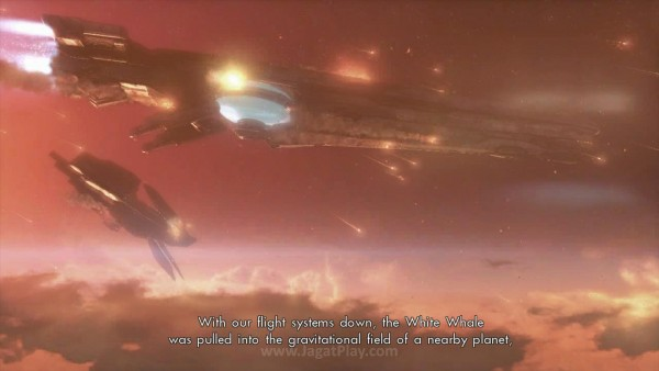 Satu kapal bernama White Whale berhasil selamat. Namun kejaran dari ras alien misterius membuatnya jatuh ke sebuah planet dengan monster menyeramkan - Mira.