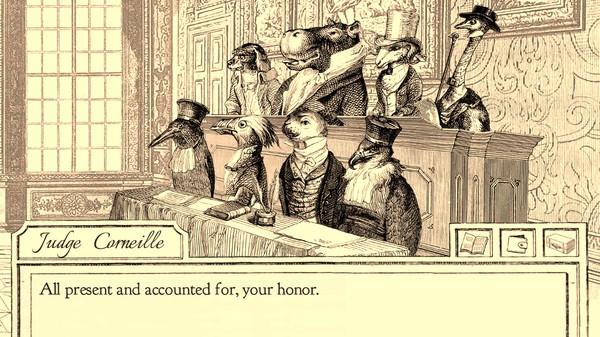 Penasaran dengan Ace Attorney versi burung yang digarap serius ini? Aviary Attorney sudah tersedia di Steam.
