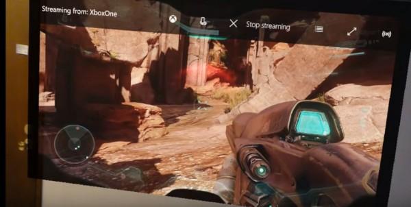 Microsoft memperlihatkan sepert apa bentuk gaming di HoloLens via Halo 5: Guardians.