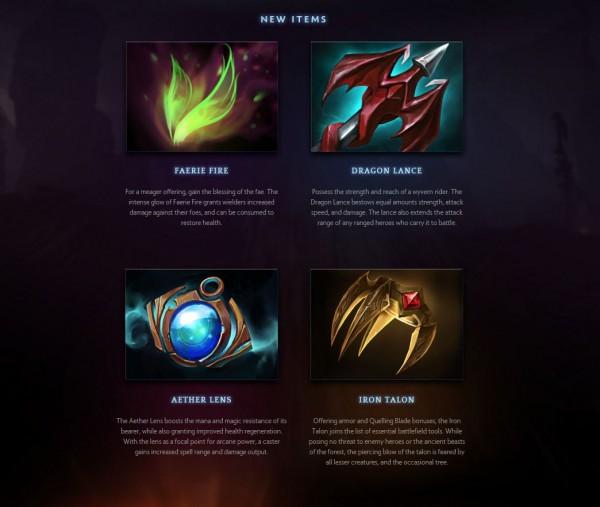 Beberapa varian item dengan range sebagai fokus.