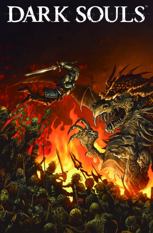 Dark Souls comic cover (2)