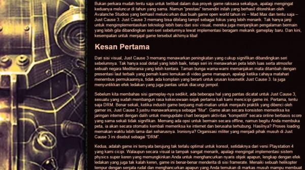 Font adalah salah satu keluhan utama di JagatPlay V1 dan menjadi salah satu concern utama kami sebelum membangun V2 ini.