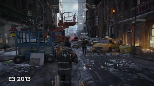 Di versi E3 2013, dunianya terlihat padat dengan objek yang memperlihatkan bahwa sebuah skenario post apocalyptic memang tengah terjadi.