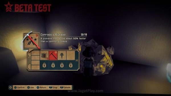 Gameplay dasarnya seperti Minecraft, dimana Anda harus mengumpulkan beragam varian resource.