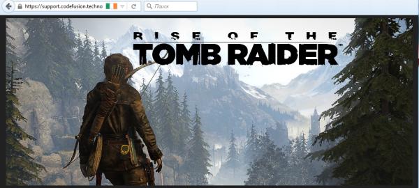 Bukti eksplisit memang belum mengemuka, namun ROTTR terlihat di situs codefusion - situs yang berada di bawah kepemilikan bos Denuvo itu sendiri.
