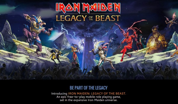 Maskot Iron Maiden - Eddie akan terlibat petualangan epik ditemani musik cadas mereka lewat proyek game mobile terbaru.