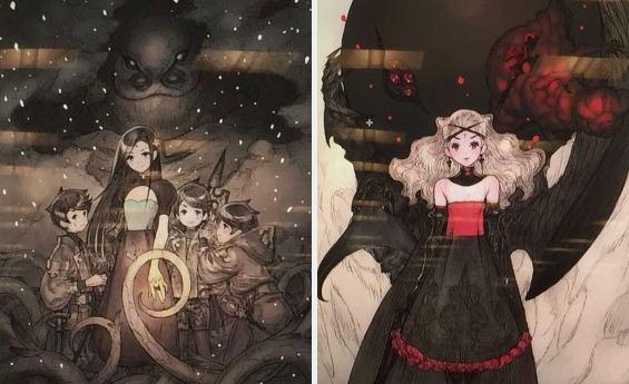 Sakaguchi memperlihatkan artwork game terbarunya yang misterius, yang diduga akan meluncur untuk konsol.