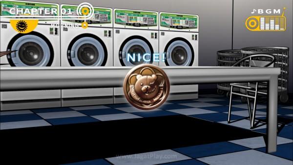 Temukan koin Monokuma untuk dibelanjakan menjadi hadiah