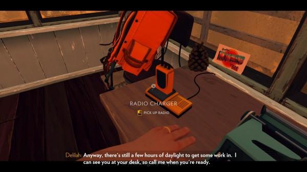 Mengagumkan tentu saja, bahwa radio kecil ini, bisa muncul sebagai elemen terbaik sekaligus daya tarik utama Firewatch.