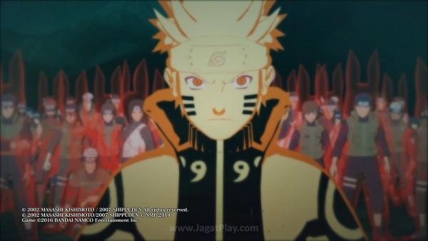 Garis cerita sendiri dibagi ke dua format - Story Mode dan Adventure Mode. Story Mode meneruskan cerita manga, dari pertarungan Obito hingga Kaguya.