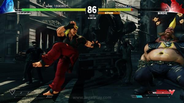 Street Fighter V jagatplay part 1 (150)