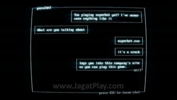 Anda berperan sebagai seorang gamer yang mendapatkan informasi dari temannya soal game