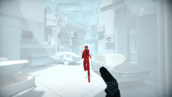Game ini hanya meminta Anda membunuh manusia berwarna merah seperti  ini saja.